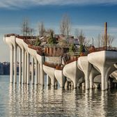 """Little Island"", Hudson River Park, Meatpacking District, Manhattan"