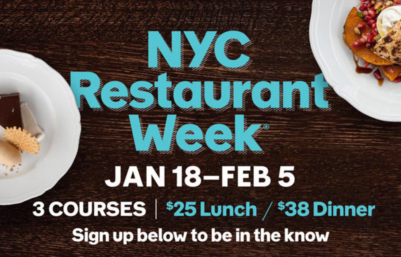 NYC Restaurant Week 2016