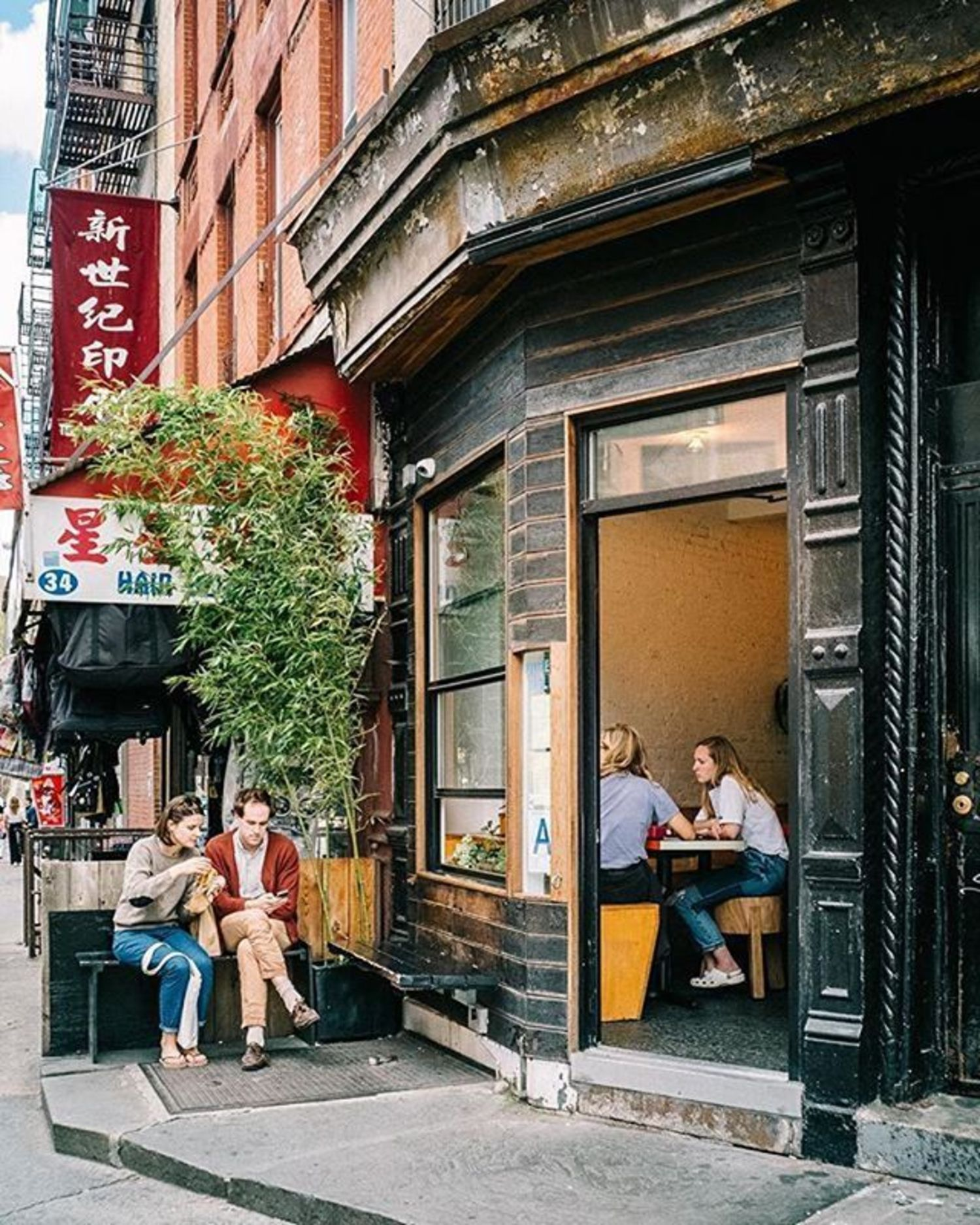Chinatown, New York City. Photo via @newyorkcitykopp #viewingnyc #newyorkcity #newyork