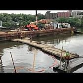 JFK's WWII era patrol boat is raised from Harlem River