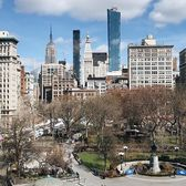 Union Square, New York. Photo via @melliekr #viewingnyc #newyork #newyorkcity #nyc #unionsquare