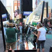 "Pedestrians walk through the ""kaleidoscope."""