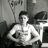 Robert De Niro in 1950, age 7