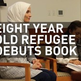 8-year-old Syrian refugee debuts book in NYC