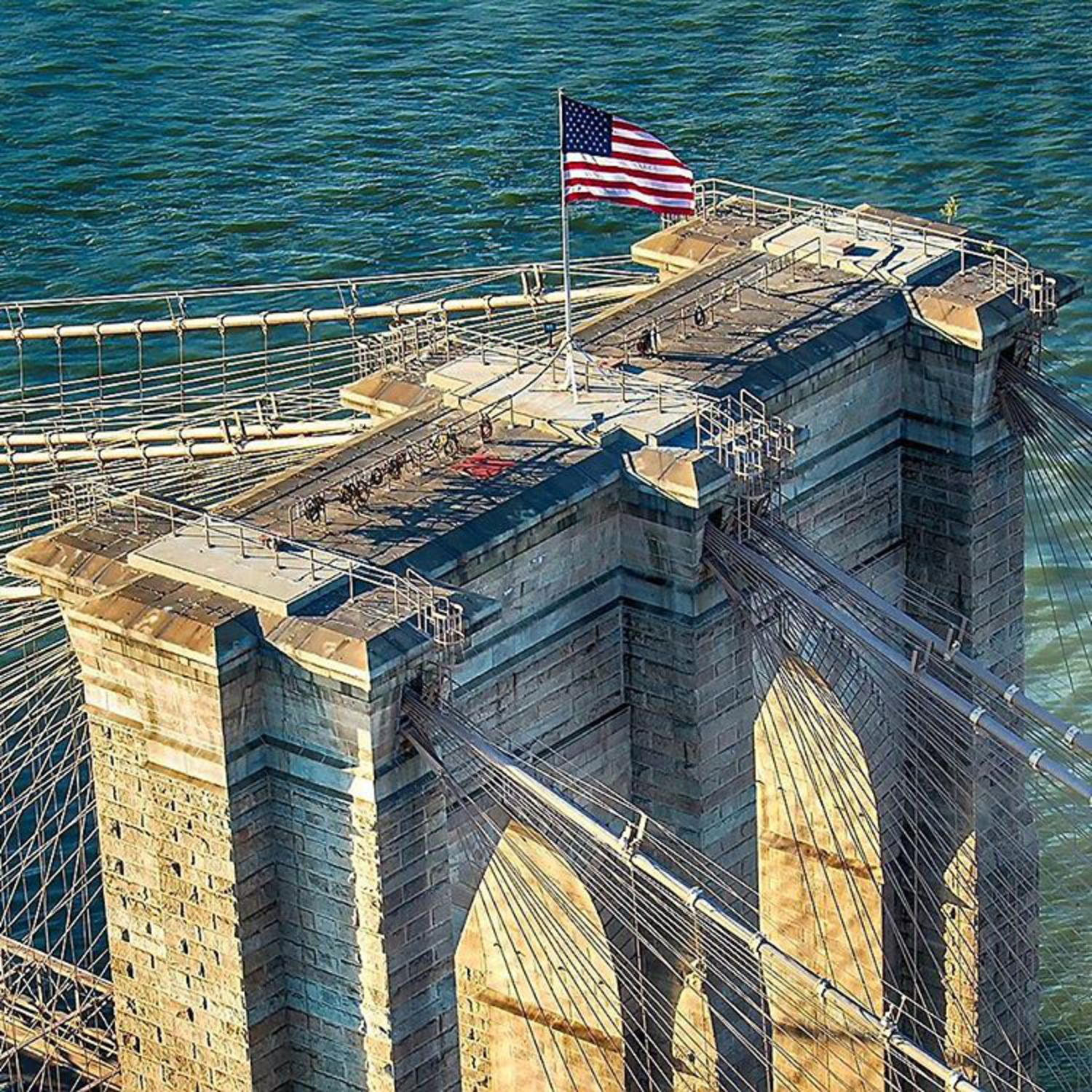 #oldglory soaking up another #nyc sunset atop the #brooklynbridge ©rdp3photography @wingsairheli .. #canon_photos #team_canon #teamcanon #nyc #ny #what_i_saw_in_nyc #nycity #instanyc #picturesofnewyork #colorofnewyork #nyloveyou #photos_of_new_york #photosofnewyork #bridge #bridgephotography #sunset #america #newyork #icapture_nyc #topnewyorkphoto #nycinstagram #thecreatorclass #illgrammers #artofvisuals #heatercentral #meistershots #nycityworld