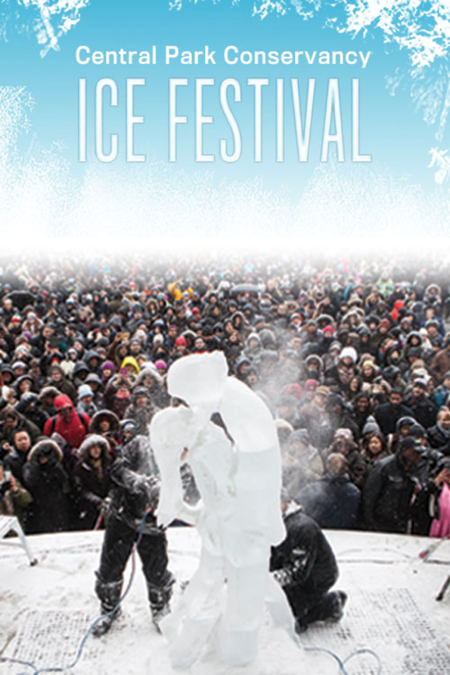 See The Mesmerizing Ice Exhibition at Central Park This Weekend