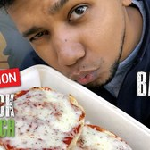 The Best Cheap Pizza Bagel in NYC || Operation $5 Lunch