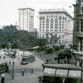 Flatiron Building and Madison Square Park, 1908
