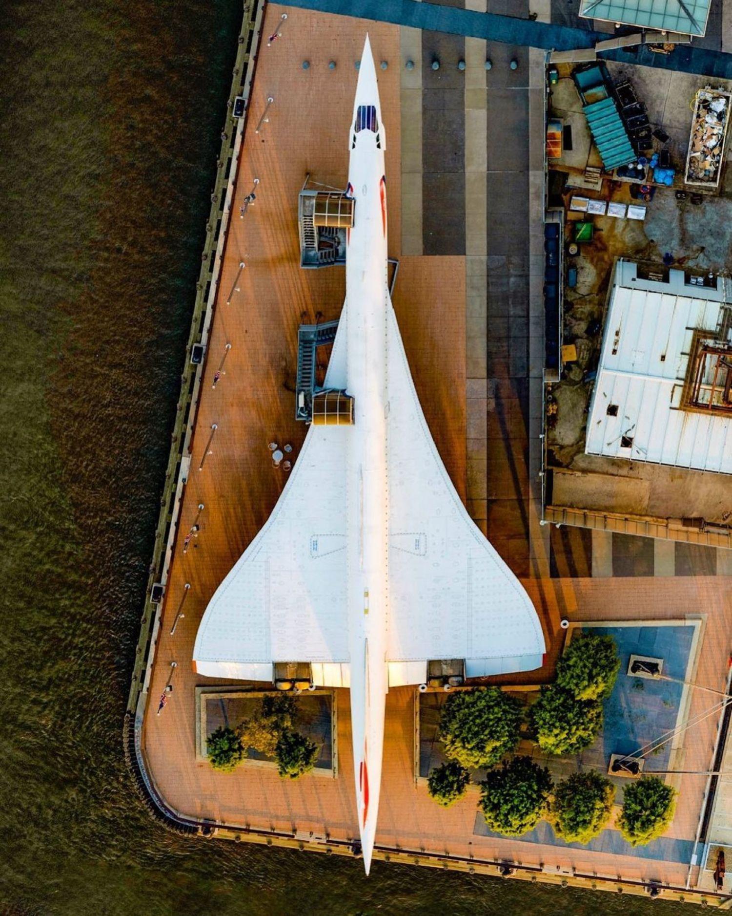 Concorde Jet, Intrepid Sea, Air, and Space Museum, Manhattan