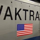 "⁴ᴷ New NYC Subway ""VakTrak 3"" Vacuum Train passing Whitehall Street"