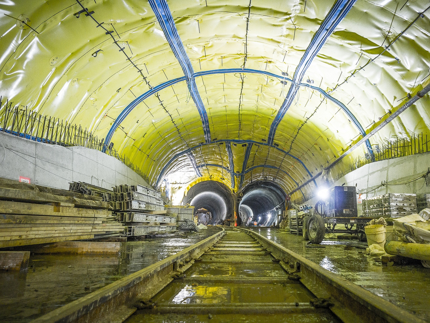 It's the biggest expansion of the city's subway system in generations.