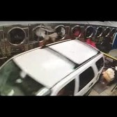 Dramatic video: Security camera catches car crashing into laundromat
