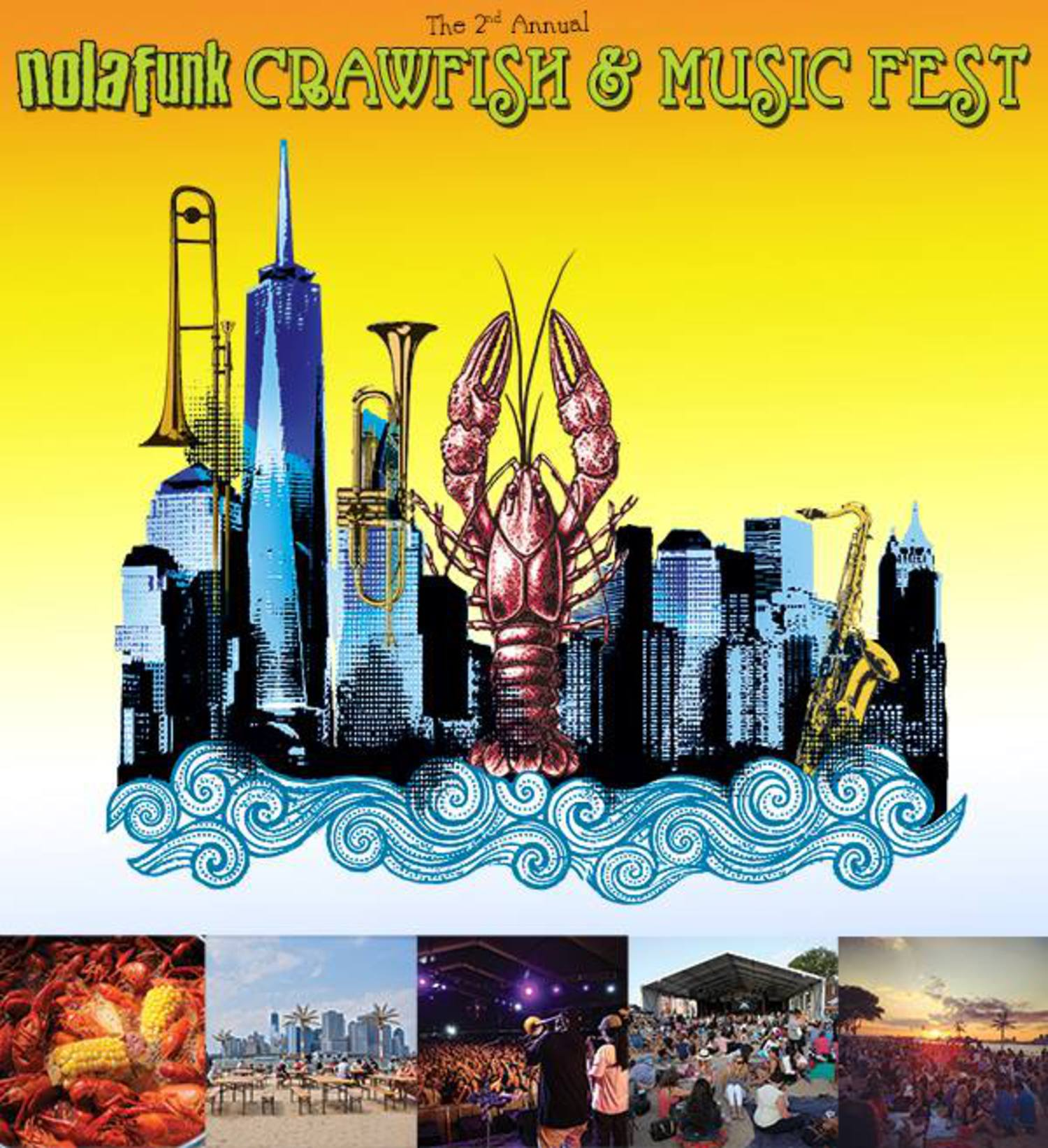 2nd Annual Crawfish and Music Festival
