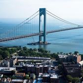 Verrazano Bridge, Bay Ridge, Brooklyn.