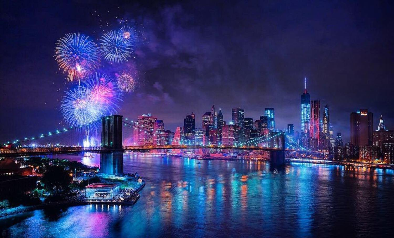 Happy Independence Day from New York 🇺🇸