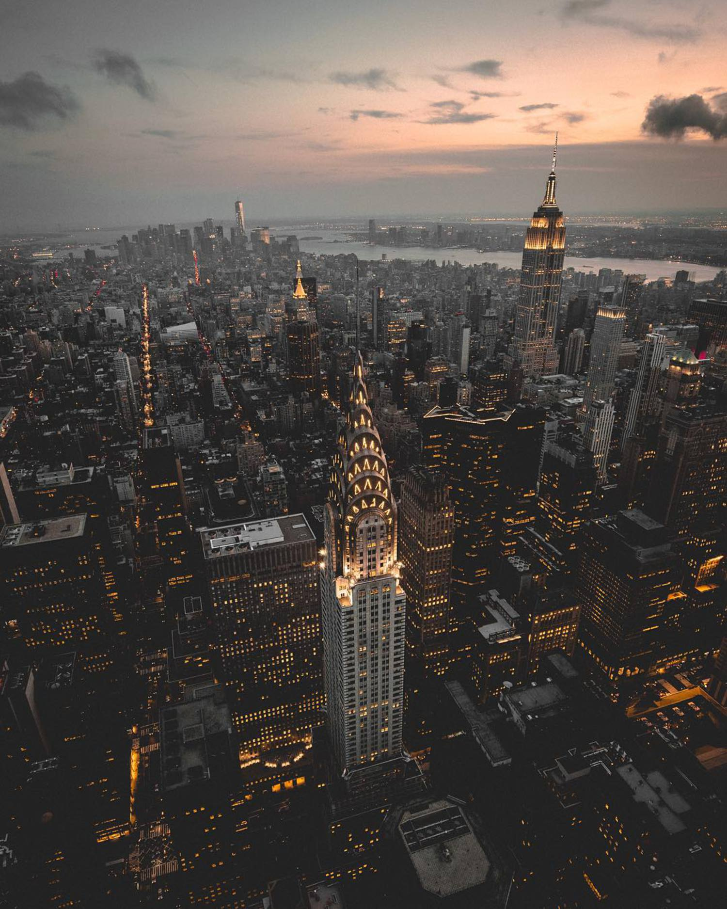 Manhattan aerial edited with my Goldie preset available for download now at @estheticlabel #estheticlabel check out the @highsnobiety link  in my bio 👊