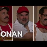 Conan Welcomes All Of New York's Assorted Rays  - CONAN on TBS