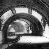 """Construction of New York City Hall Subway Station"" Credit: Board of Rapid Transit Railroad Commissioners"