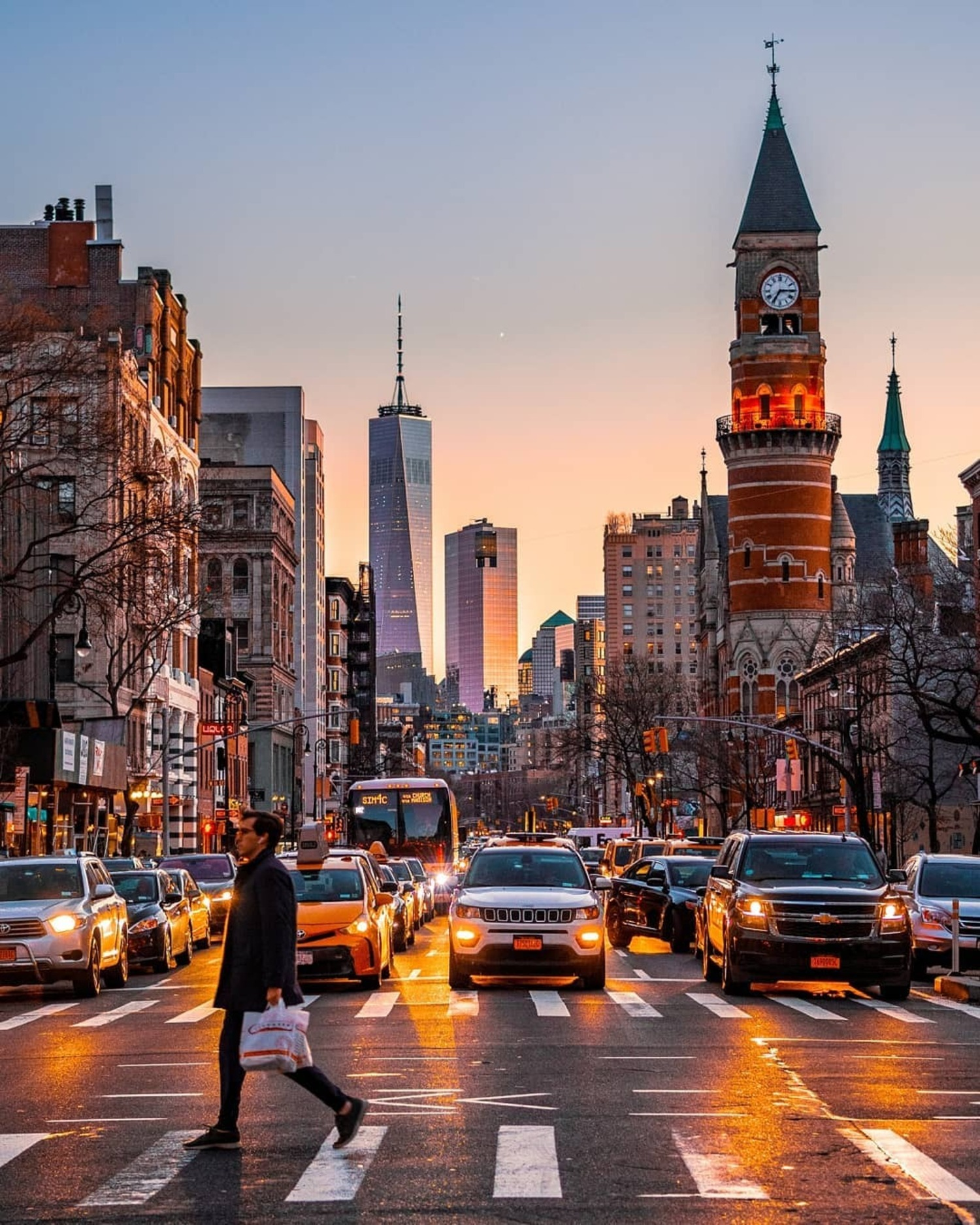 6th Avenue and West 14th Street, Manhattan