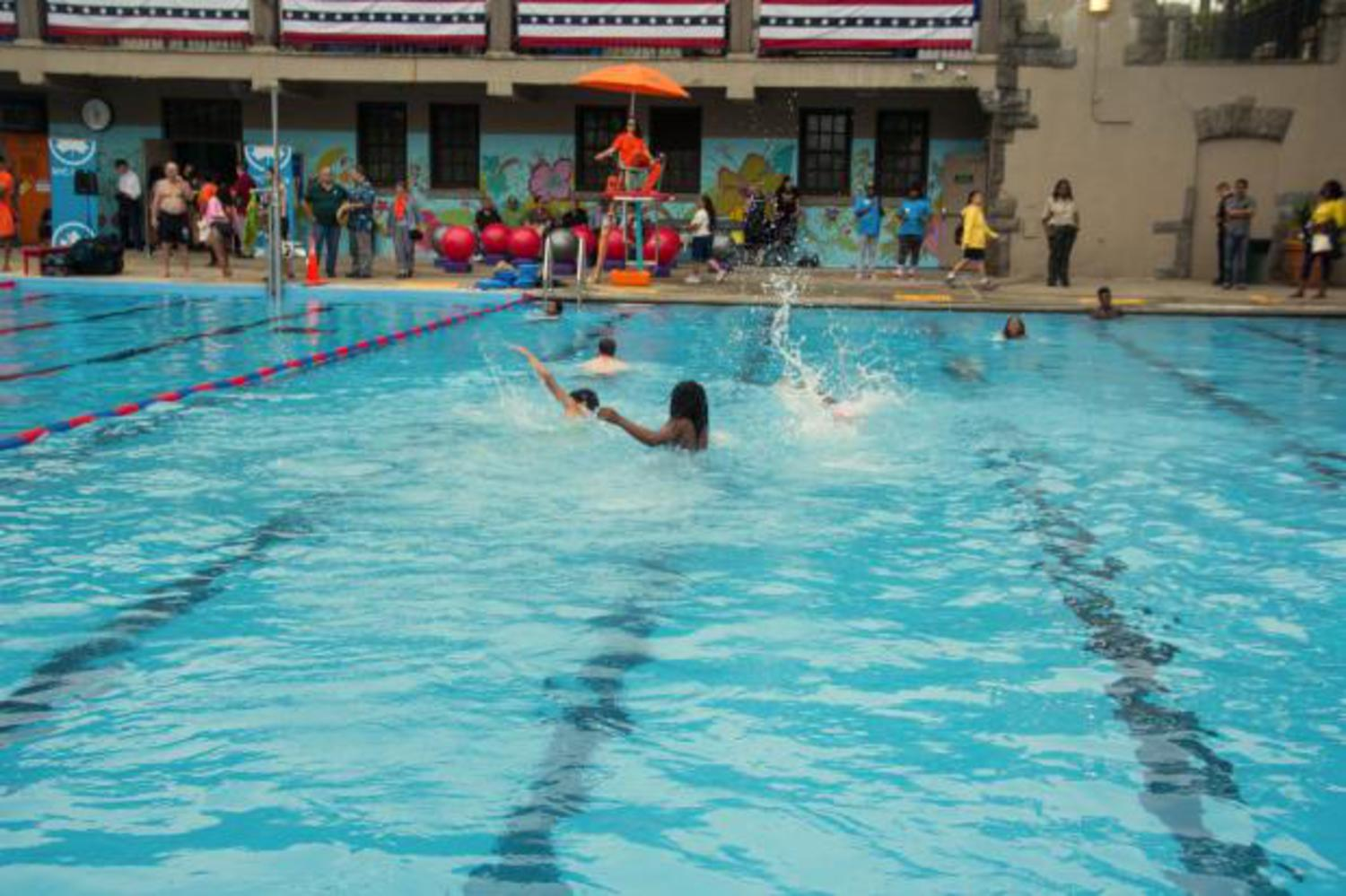 The city's outdoor public pools will be open from Wednesday, June 29, 2016, to Sept. 11, 2016.