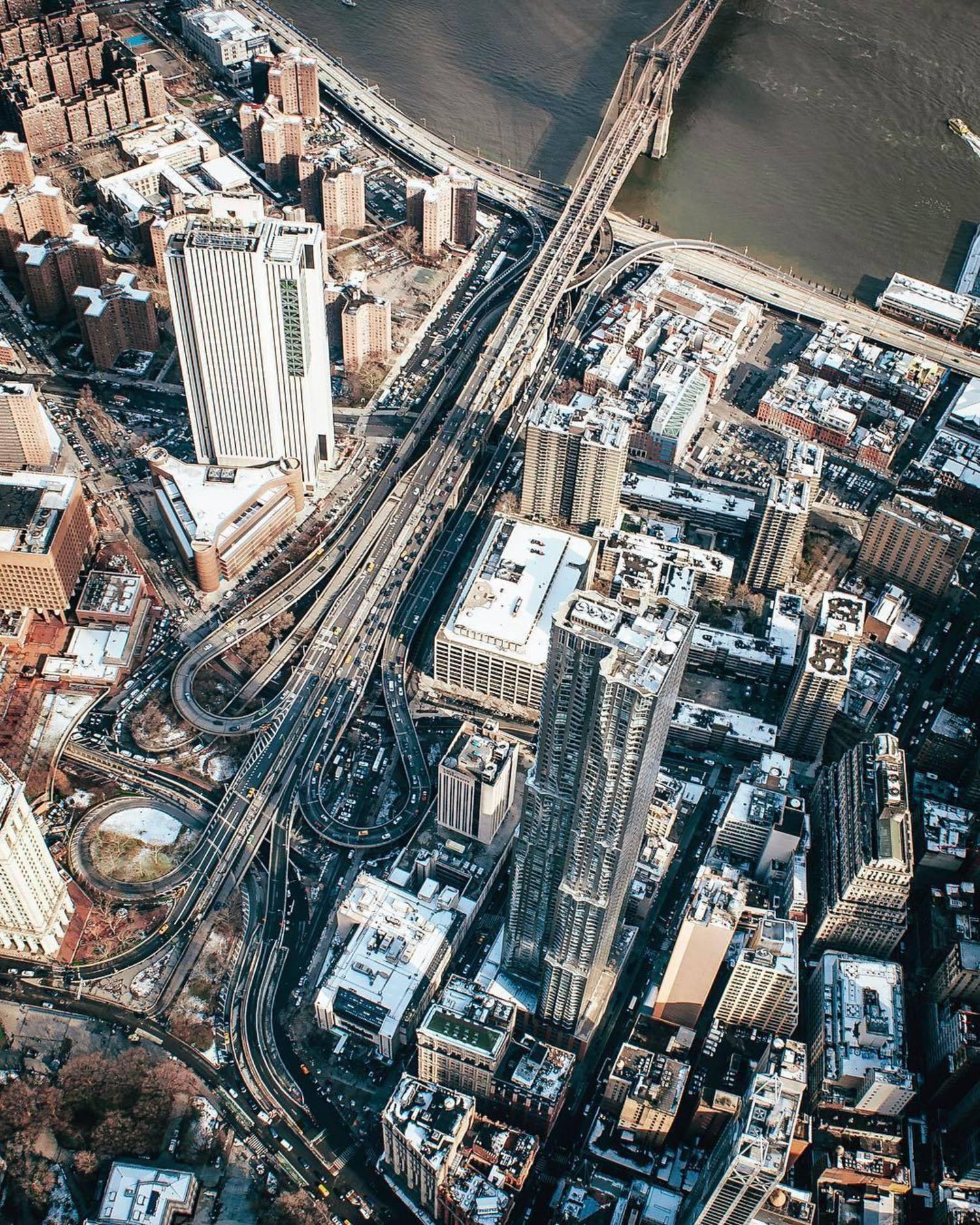Civic Center and Brooklyn Bridge, Manhattan