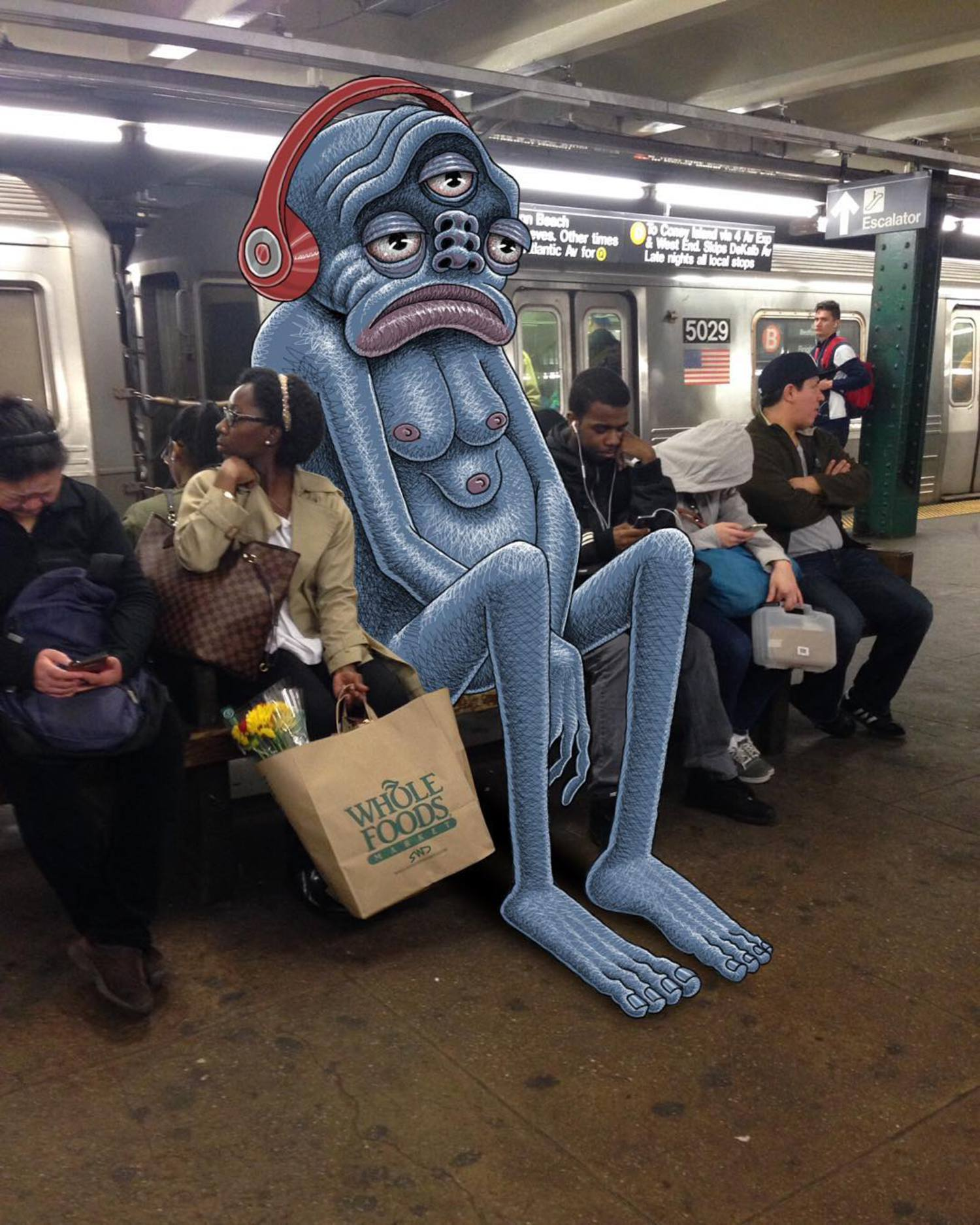 Mondays. #subwaydoodle #subway #doodle #swd #monday #mondays #nyc