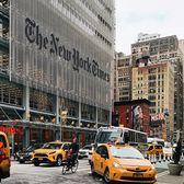 The New York Times Building, 9th Avenue and 40th Street, Manhattan