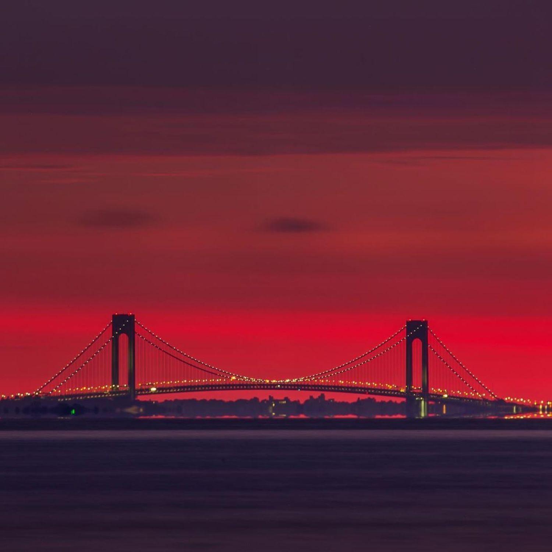 Verrazzano-Narrows Bridge, Staten Island - Brooklyn, New York