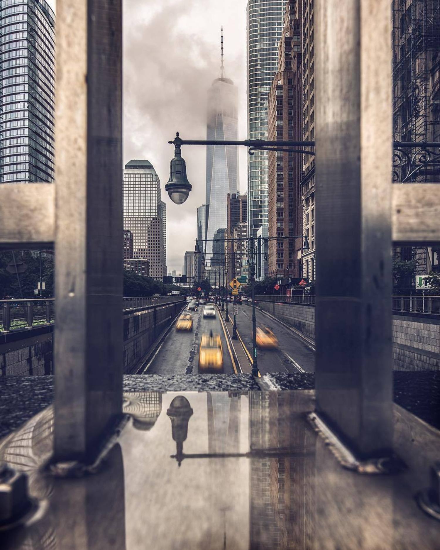New York, New York. Photo via @rwakeland #viewingnyc #newyork #newyorkcity #nyc #oneworldtradecenter