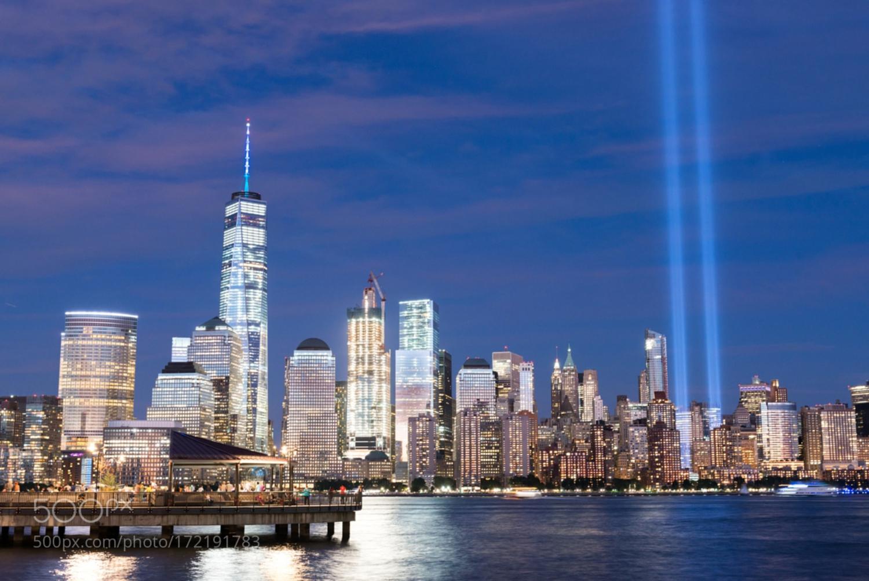 September 11th Memorial Lights, 2016