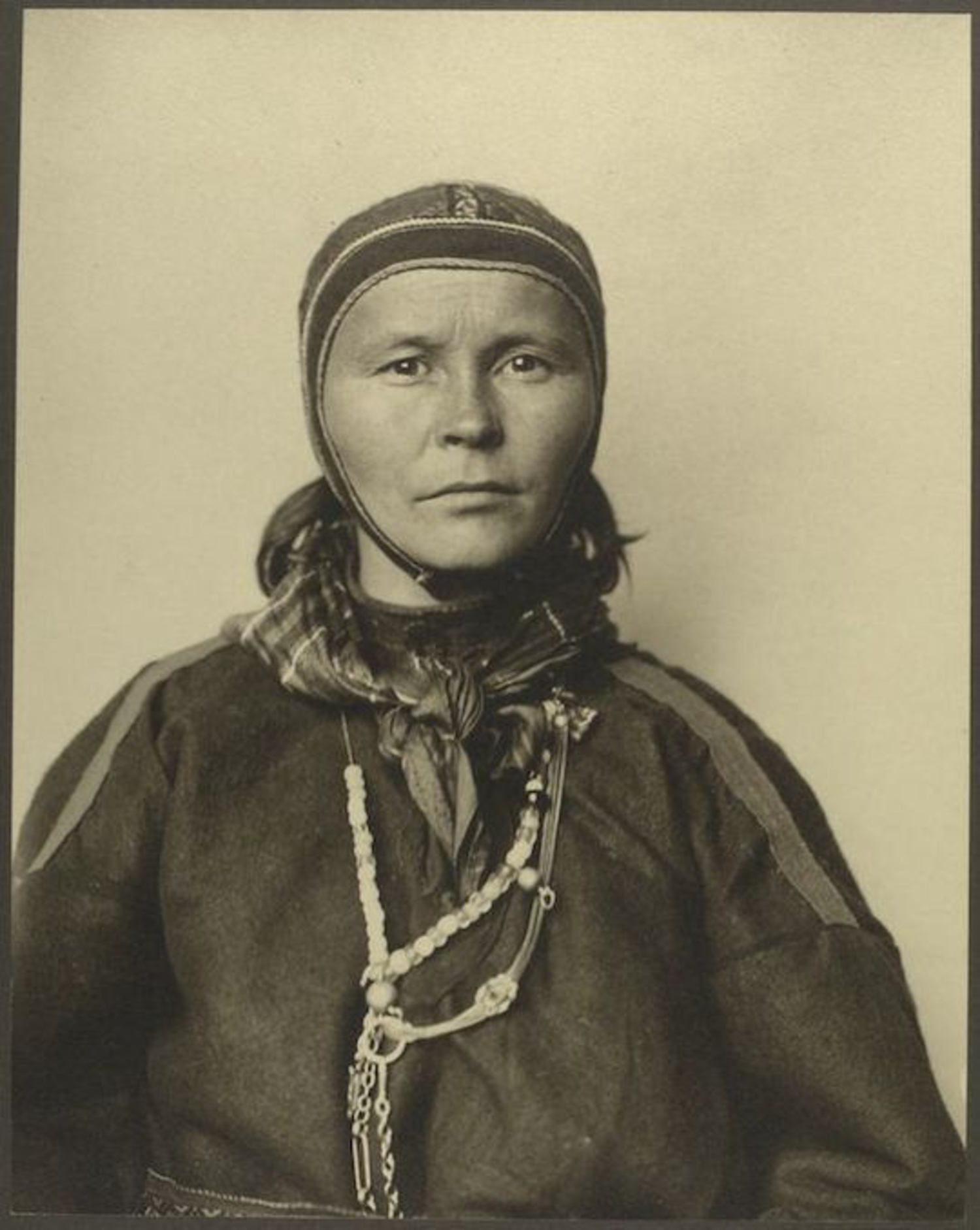 A Woman from Lapland. Portraits for Ellis Island.