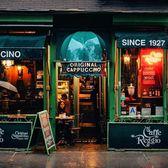 Cafe Reggio, Greenwich Village, Manhattan.
