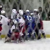 CTW vs NYR 1-3-2016 [brawl]