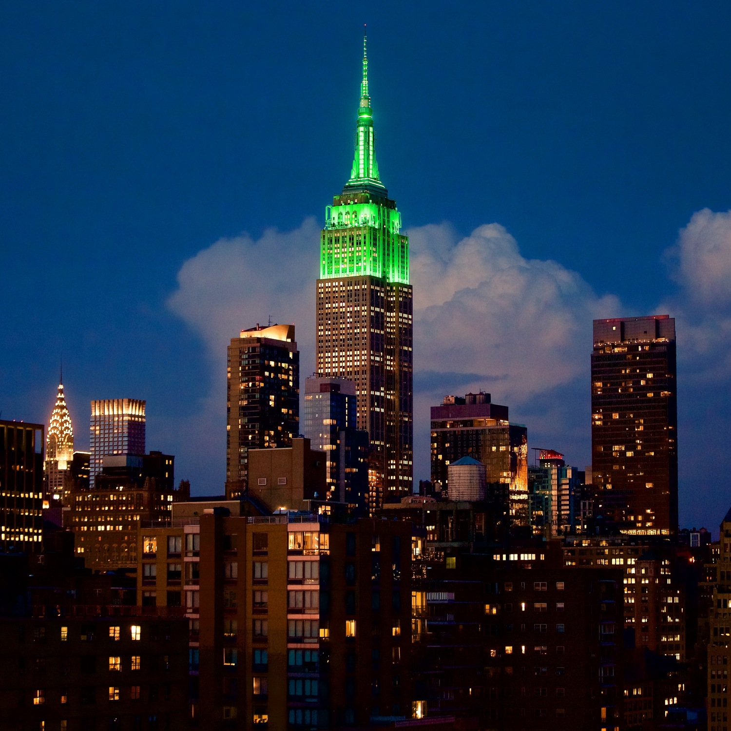 The Empire State Building from My Rooftop