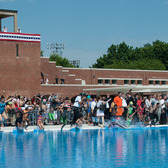 McCarren Park Pool, Williamsburg, Brooklyn