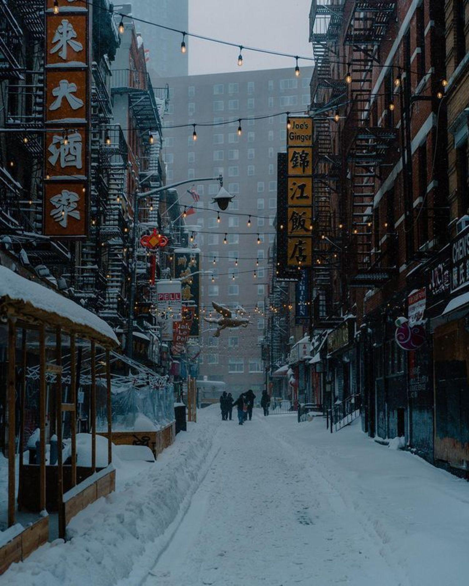 Pell Street, Chinatown, Manhattan