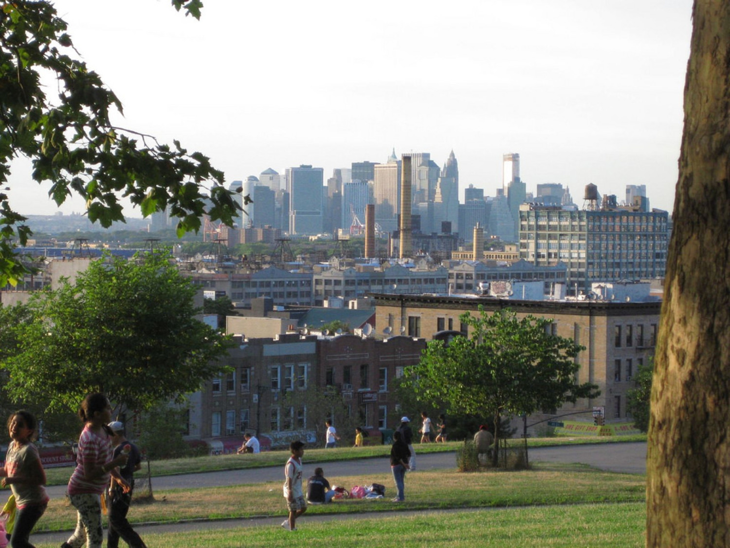 Manhattan from Sunset Park