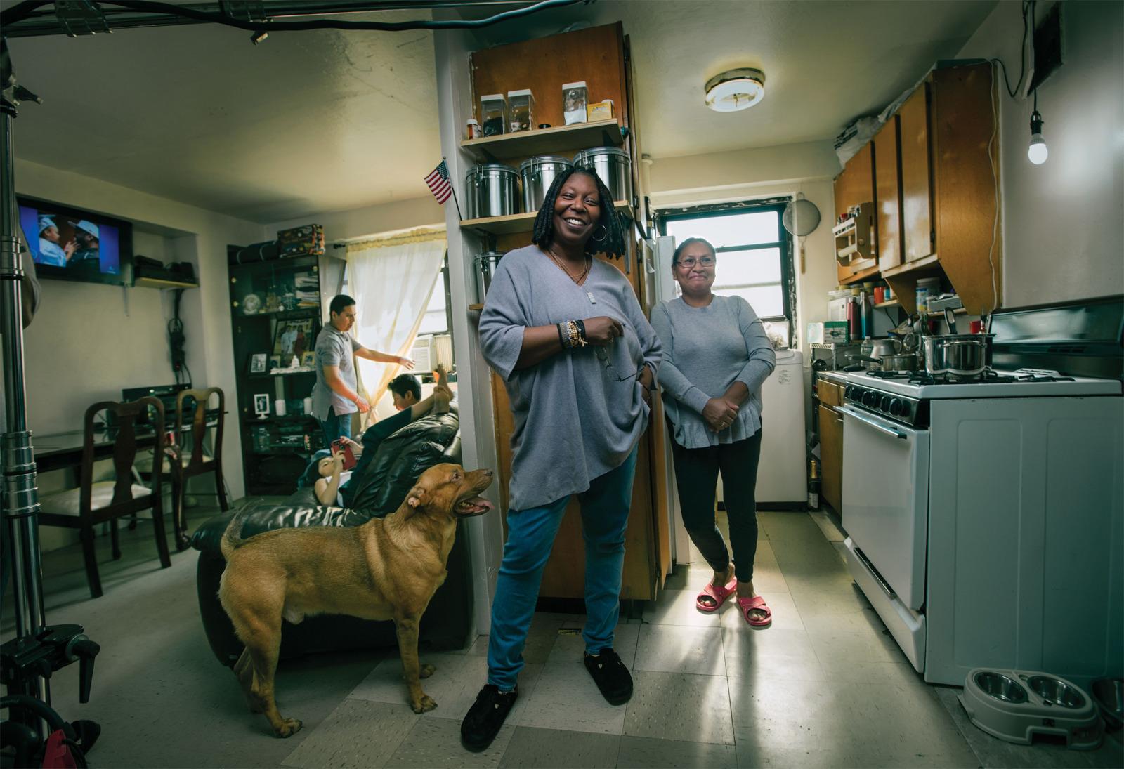 Whoopi Goldberg Lived In The Chelsea Elliot Houses Where