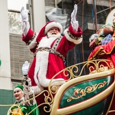 Santa Claus at the Macy's Thanksgiving Day Parade, 2014