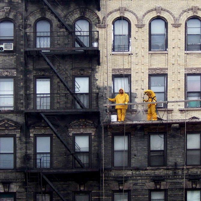 Nyc Building Exterior Cleaning Before And After Viewing Nyc