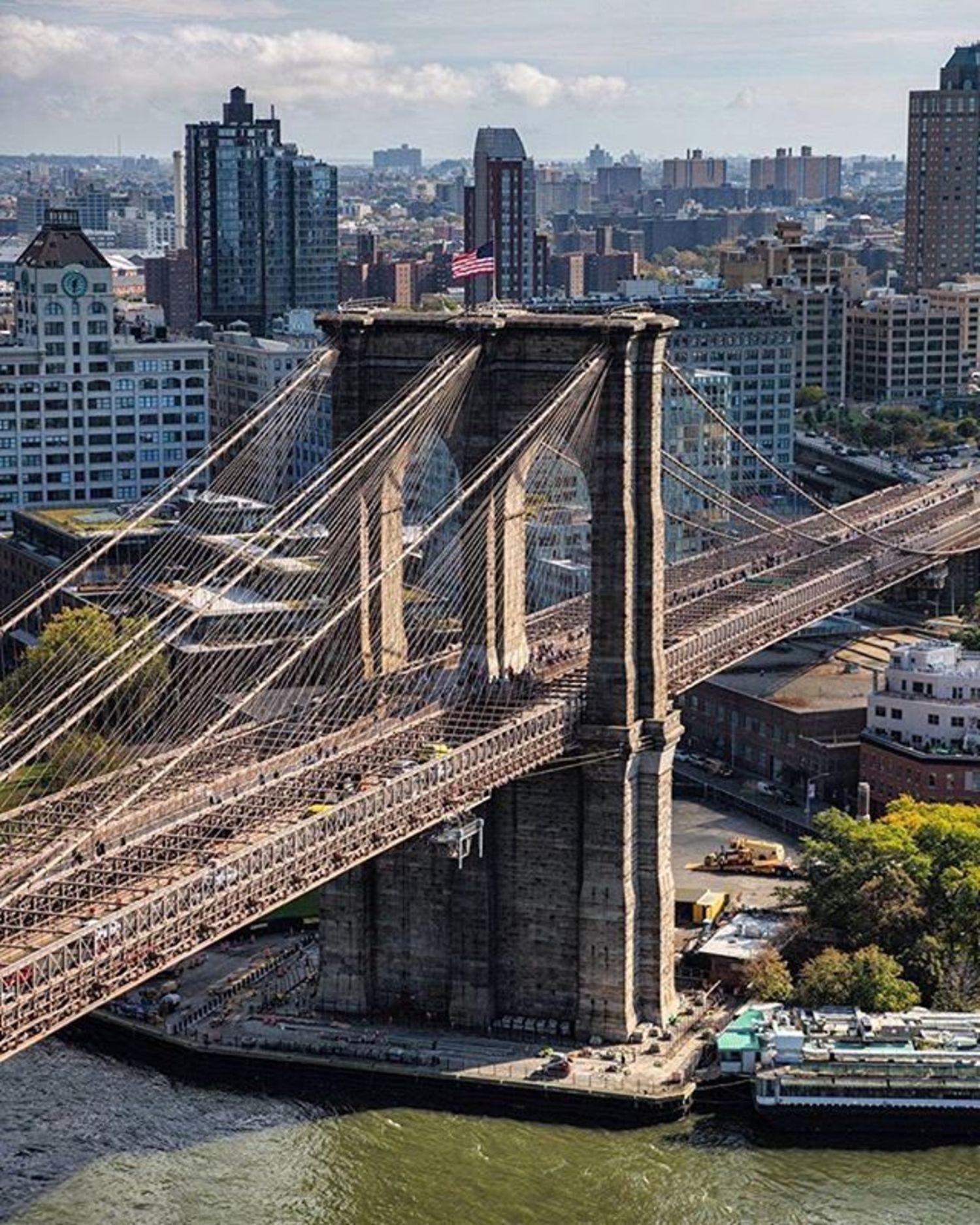 Brooklyn Bridge, New York, New York. Photo via @mattpugs #viewingnyc #newyorkcity #newyork #nyc
