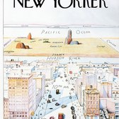 How New Yorkers See The World: View of the World from 9th Avenue