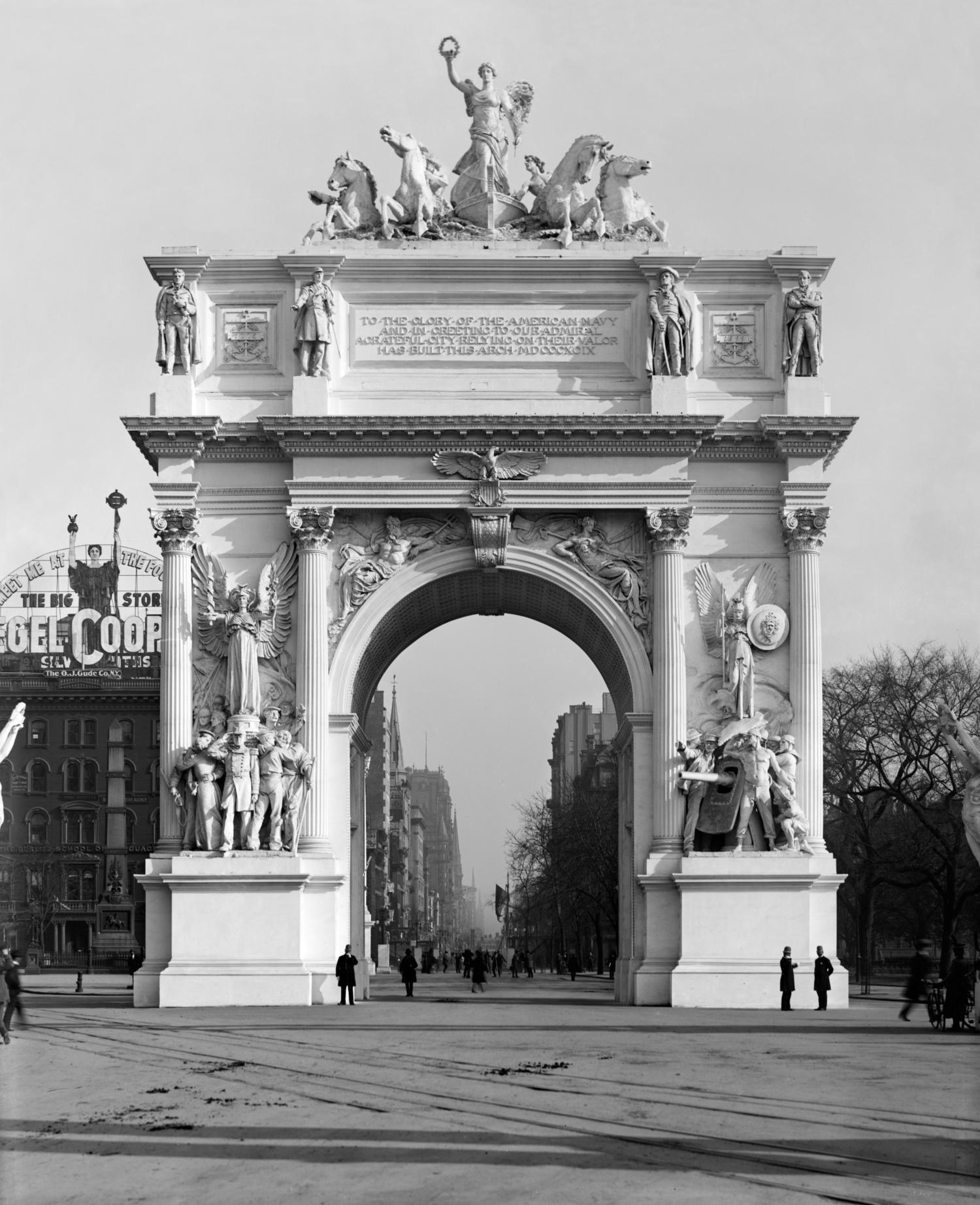 Dewey Arch
