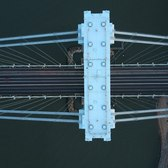 Verrazano-Narrows Bridge Drone Flying