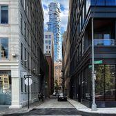 Laight Street and St. Johns Ln, Tribeca, Manhattan