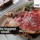 This is the biggest piece of steak we've ever seen