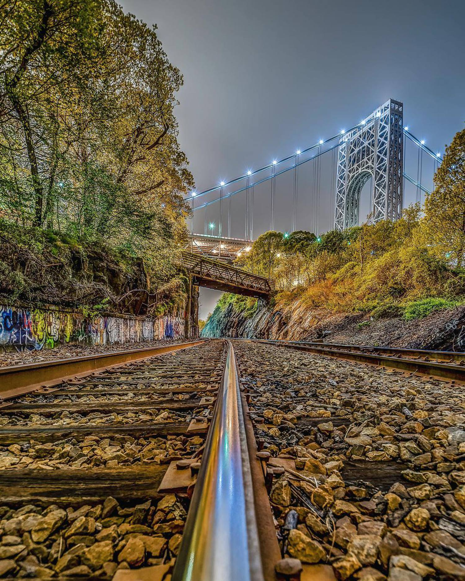 On Track. =============================== 🎞Shot info🎞 • Date: May 3rd, 2016 • Location: Washington Heights, NY • Camera: @Nikonusa D5500 • Lens: Nikkor 10-24 mm f/ 3.5-4.5 • Focal Length: 11mm • Shutter: 30 sec • Aperture: f/11 • ISO: 100 • Shot: @mefototripods Roadtrip / Auto Mode • Shot in RAW • Edit: Lightroom / IG / Photomatix =============================== Big thank you to the pages who have featured my pics recently🙏🏻👊🏻🙏🏻 Your support is greatly appreciated @ =============================== Be sure to check out all my very talented friends I have tagged in the pic 💪🏼👍🏻💪🏼 =============================== #killianmoore #bestvacations #nycprimeshot #what_i_saw_in_nyc #moodygrams #agameoftones #topnewyorkphoto #worldbestshot #ig_global_life #illgrammers #ig_worldclub #thebestdestinations #global_hotshotz #thebest_capture #createcommune #beautifuldestinations #usaprimeshot #abc7ny #urbanandstreet #awesome_earthpix #meistershots #igpodium_mag #igpowerclub #ig_nycity #instagood#watchthisinstagood#8visual#photooftheday #newyork_instagram #createconnectexplore