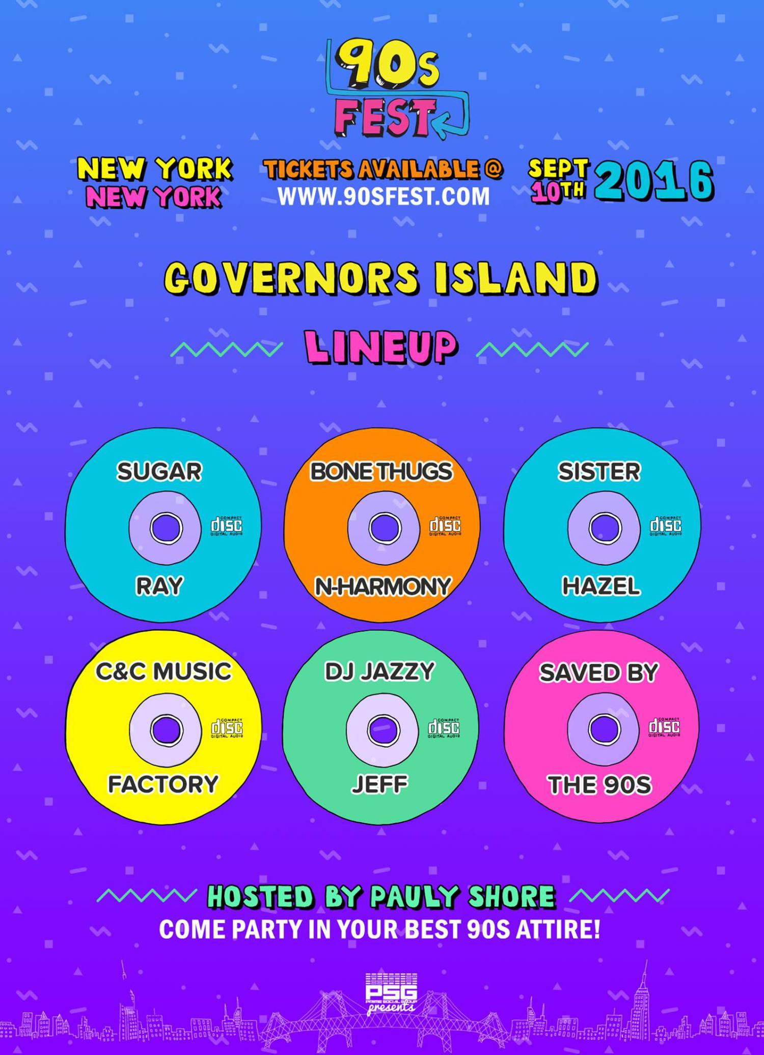New York, NY Lineup