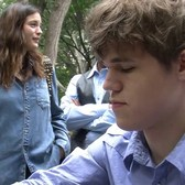 Magnus Carlsen Playing Chess Hustlers in Washington Square Park