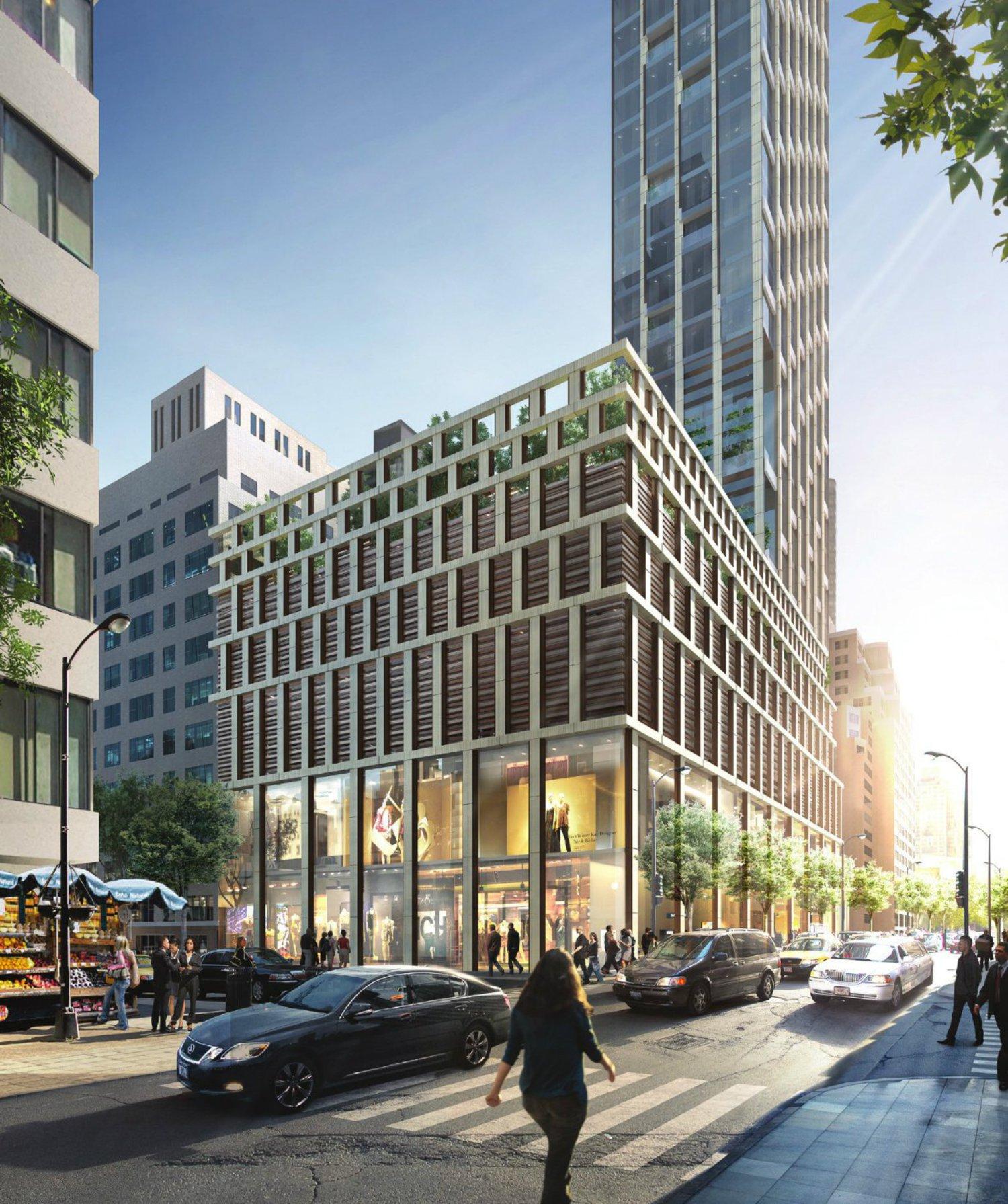 151 East 60th Street, image by Kohn Pedersen Fox